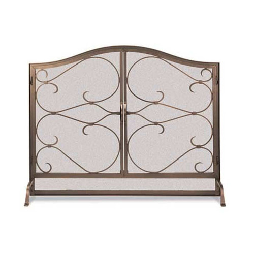 Pilgrim Iron Gate Screen With Arched Doors - BB