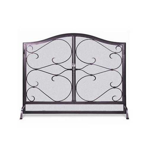 Pilgrim Iron Gate Screen w/ Arched Doors