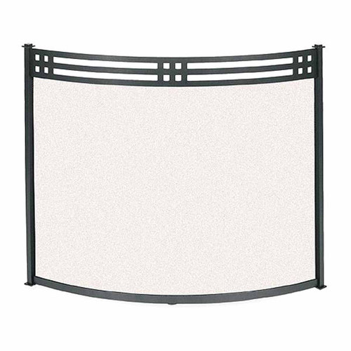 Pilgrim Bowed Portfolio Screen - Matte Black