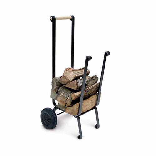 Pilgrim Big Wheel Wood Cart - Vintage Iron