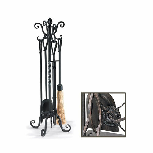 Pilgrim 33'' Victorian Tool Set - Brushed Bronze