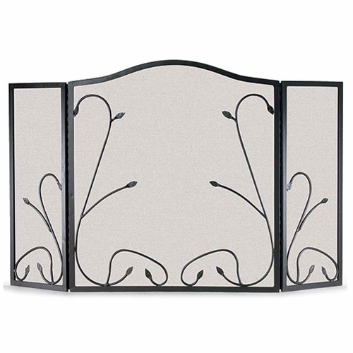 Pilgrim Leaf & Vine Three Panel Fireplace