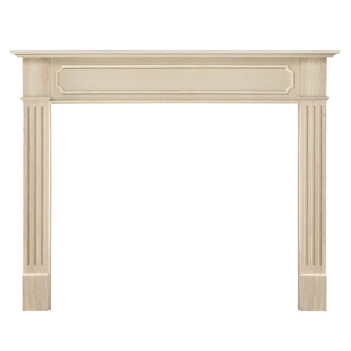 50'' Alamo Unfinished Fireplace Mantel by Pearl Mantels