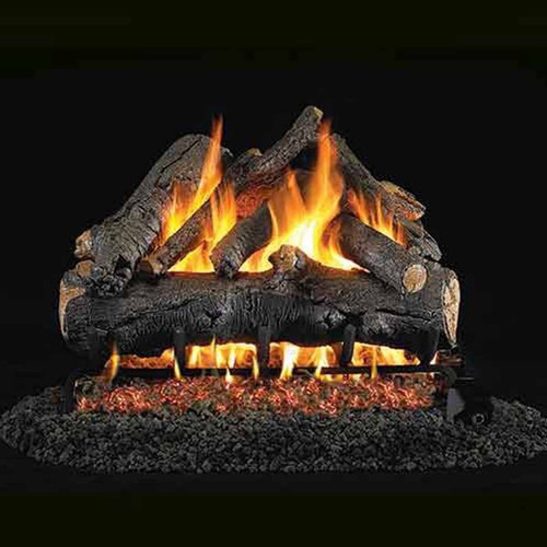 18'' Peterson Real Fyre Vented American Oak Gas Logs - Logs Only