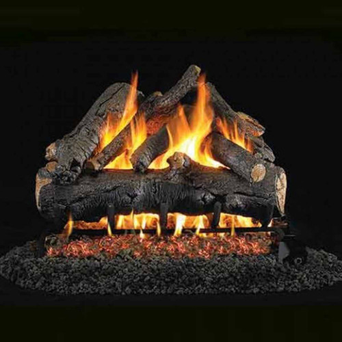 30'' Peterson Real Fyre Vented American Oak Gas Logs - Logs Only