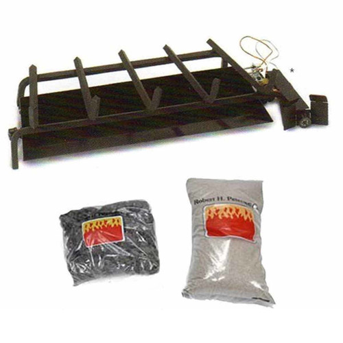 24'' Peterson G45 Real Fyre Triple T Propane Burner System
