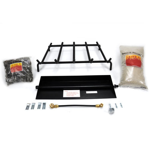 "24"" RH Peterson Real Fyre Natural Gas G4 Series Gas Log Burner System"