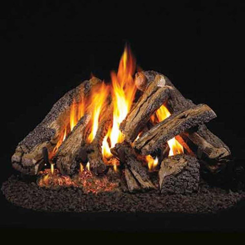 30'' Peterson Real Fyre Vented Western Campfyre Gas Logs - Gas Logs