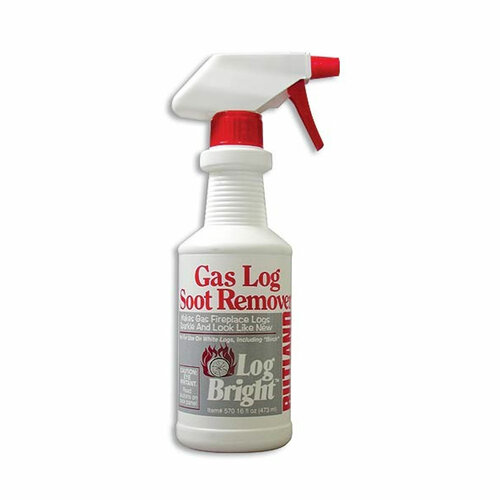 Gas Log Soot Remover