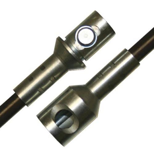 5' Fiberglass .440'' Diameter Extension Rod with Torque Lock Connector