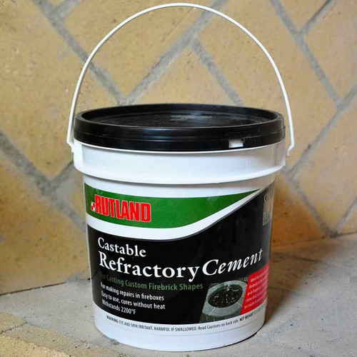 Castable Refractory Cement - 12.5 lb