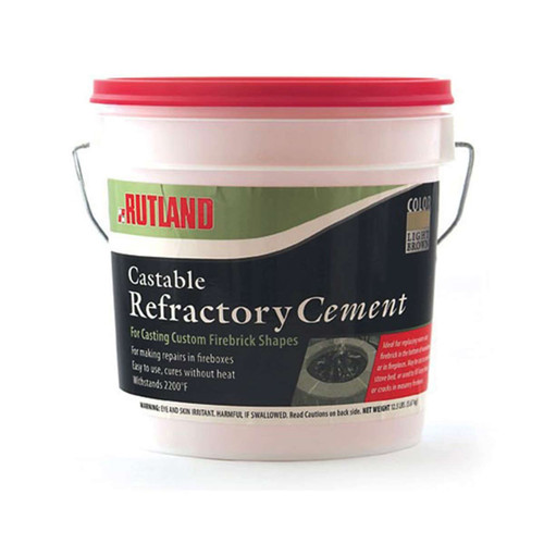 Castable Refractory Cement - 25 lb.