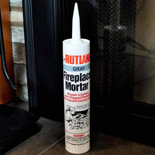 Fireplace Mortar - Gray - 10.3 oz. Cartr