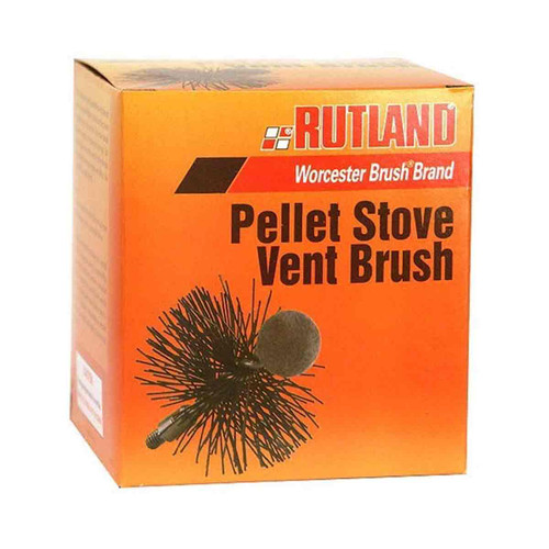 3'' Round Pellet Stove and Dryer Vent Brush