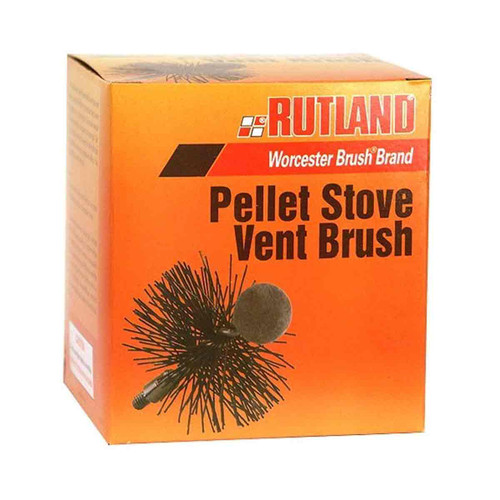 4'' Round Pellet Stove and Dryer Vent Brush