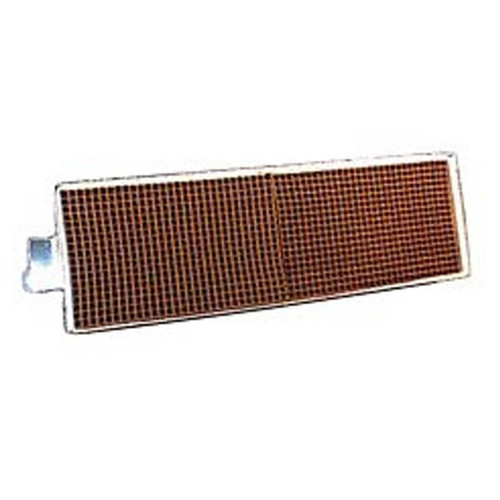3.625''x 12'' x 2'' Catalytic Combustor Replacement with Metal Band and Tabs