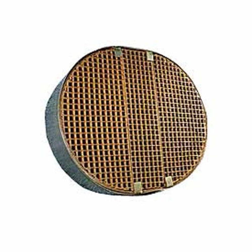 7'' x 8.65'' x 2'' Oval Catalytic Combustor Replacement with Metal Band