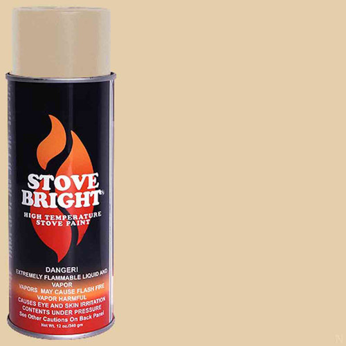 Stove Bright High Temp Paint - Almond