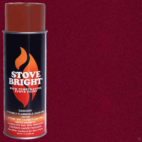 Stove Bright High Temp Paint - Mojave Red
