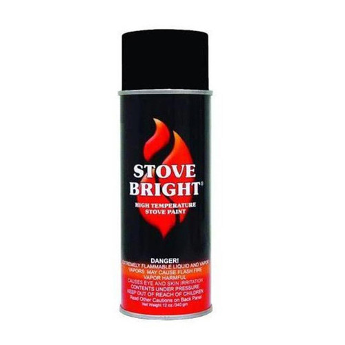 Duravent High Temperature Paint - Stove Pipe Black