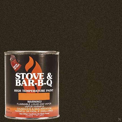 High Temperature Paint- Goldenfire Brown 16 oz