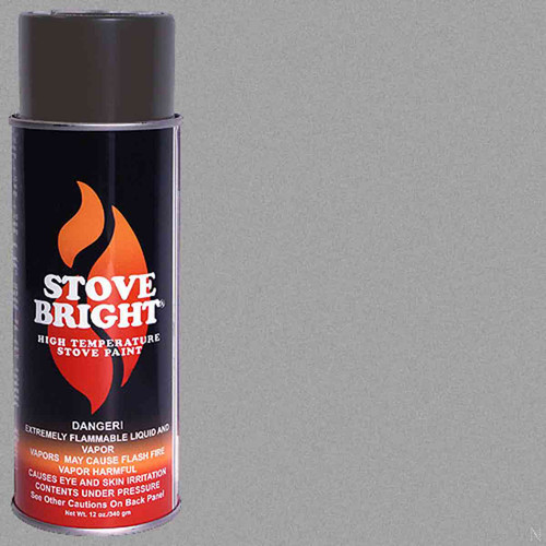 Stove Bright High Temp Paint - Pewter