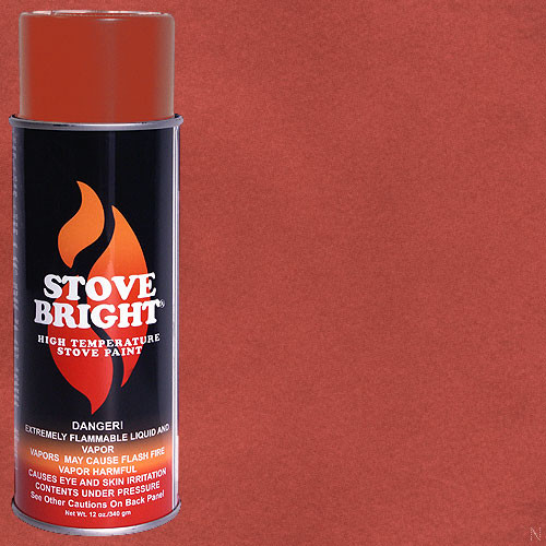 Stove Bright High Temp Paint - Shimmering Rose