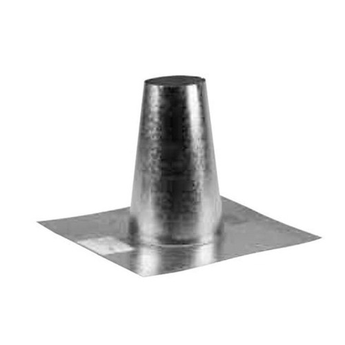 4'' Selkirk VP Pellet Vent Pipe Tall Cone Flashing - 4VP-TF