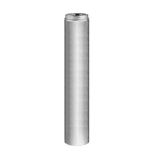 6'' x 48'' Selkirk Galva-Temp Galvanized Chimney Pipe - 206148G