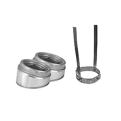 6'' Selkirk 15 Degree Galvanized Elbow Kit - 206206G