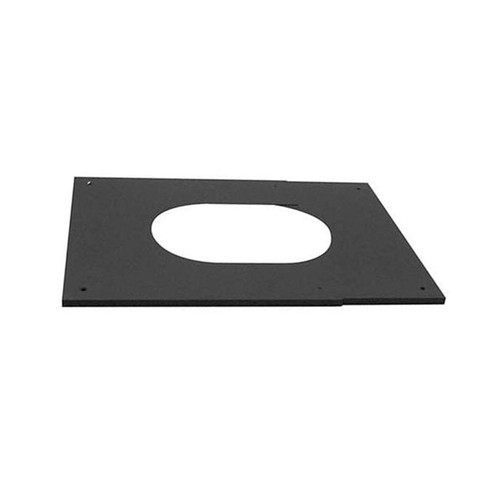 8'' Selkirk Adjustable Pitched Ceiling Plate 6/12 - 12/12 Pitch - 208514