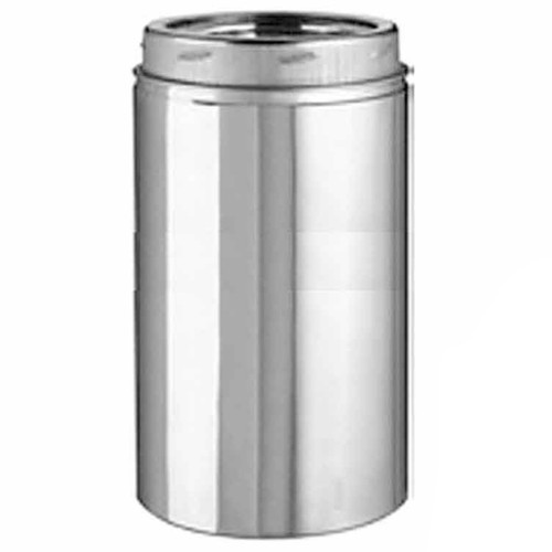 8'' x 18'' Selkirk Ultra Temp Stainless Chimney Pipe