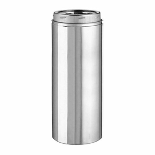 8'' x 24'' Selkirk Ultra Temp Stainless Chimney Pipe - 208024U