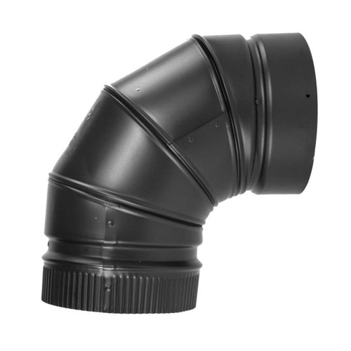 6'' DSP Double Wall 90 Degree Elbow - DS