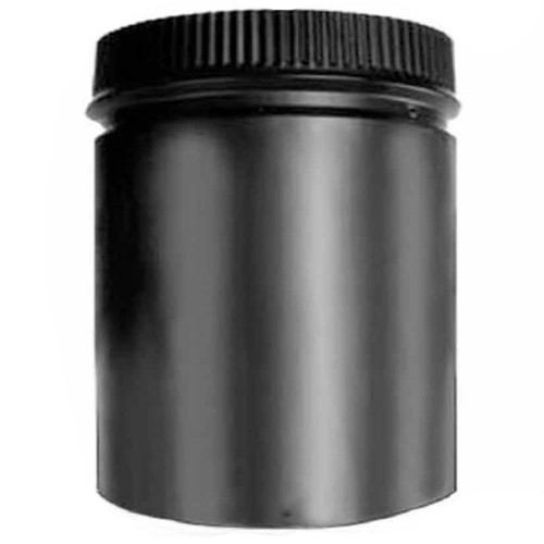 8'' x 12'' DSP Double Wall Black Stovepipe - DSP-8P12