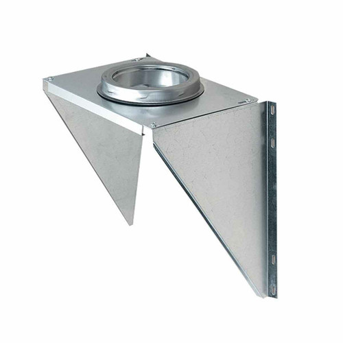 6'' SuperPro Wall Support - Galvanized