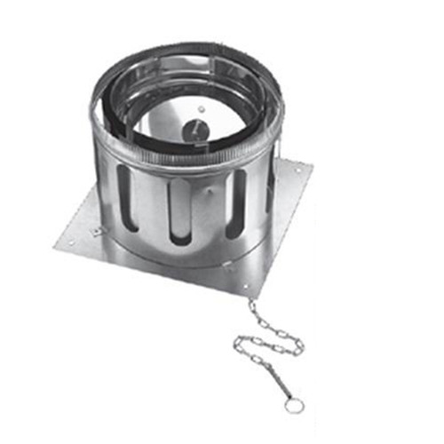 10'' DuraChimney II Anchor Plate with Damper - 10DCA-APD