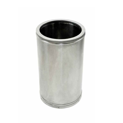 10'' x 12'' DuraTech Stainless Steel Chimney Pipe - 10DT-SS