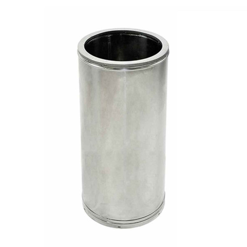 10'' x 18'' DuraTech Stainless Steel Chimney Pipe - 10DT-18SS