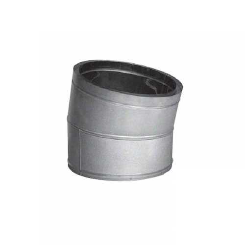 10'' DuraTech 15 Degree Galvanized Elbow - 10DT-E15