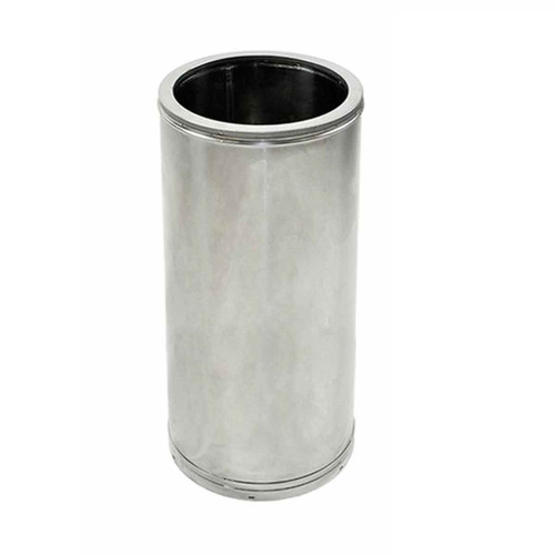 12'' x 18'' DuraTech Stainless Steel Chimney Pipe - 12DT-18SS
