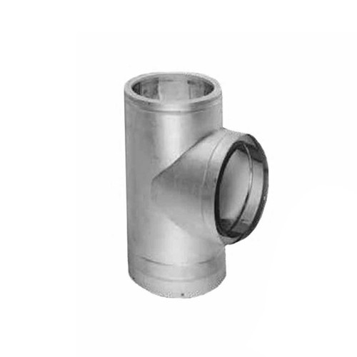 12'' DuraTech Galvanized Tee with Cap - 12DT-T