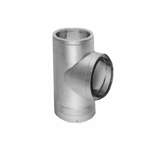 12'' DuraTech Stainless Steel Tee with C