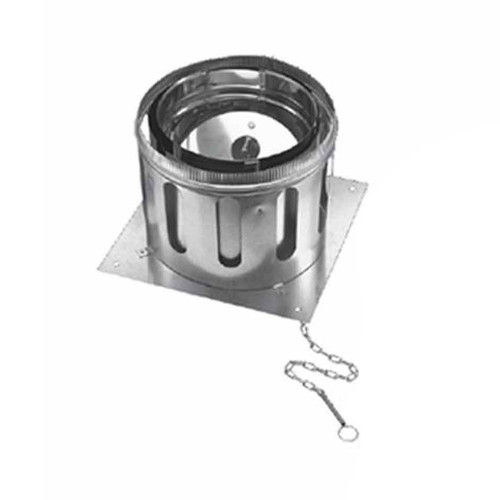 14'' DuraChimney II Anchor Plate with Damper - 14DCA-APD