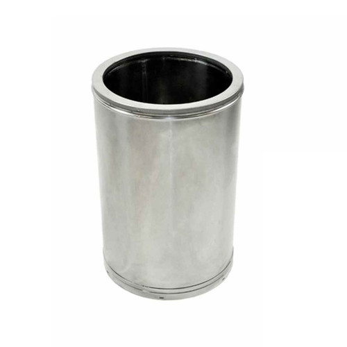 14'' x 12'' DuraTech Stainless Steel Chimney Pipe - 14DT-12SS