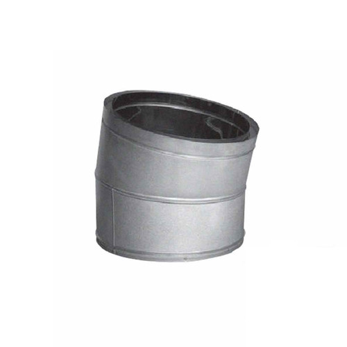 14'' DuraTech 15 Degree Galvanized Elbow - 14DT-E15
