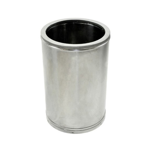 16'' x 12'' DuraTech Stainless Steel Chimney Pipe - 16DT-12SS
