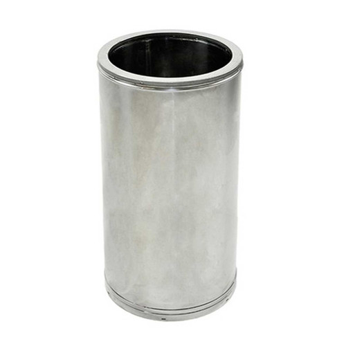 18'' x 18'' DuraTech Stainless Steel Chimney Pipe - 18DT-18SS