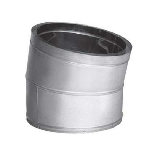 18'' DuraTech 15 Degree Stainless Steel Elbow - 18DT-E15SS