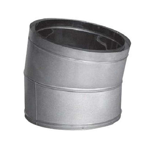 20'' DuraTech 15 Degree Galvanized Elbow - 20DT-E15